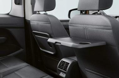 Nový Caddy zadní sedadla skládací stolky