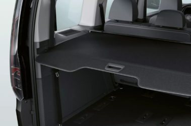 Nov Caddy zavazadlový prostor