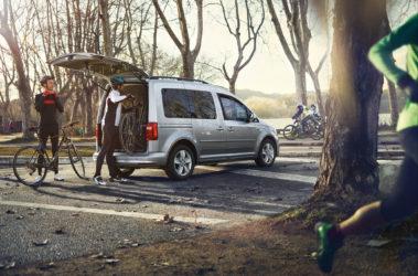 Caddy - boční pohled a zavazadlový prostor
