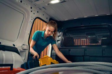 Nový Caddy Cargo nákladový prostor