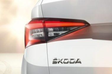 Kodiaq - zadní světlo
