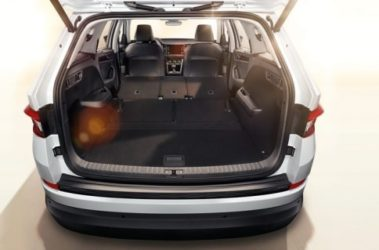 Kodiaq - zavazadlový prostor