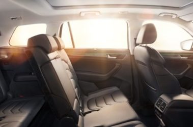 Kodiaq - boční pohled na zadní sedadla