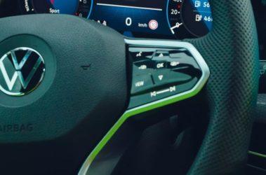 Nový Golf Variant detail ovládání