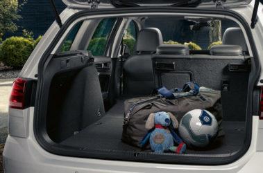 Golf Variant - zavazadlový prostor