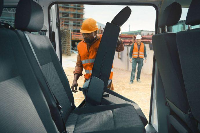 Nový Transporter kombi interier