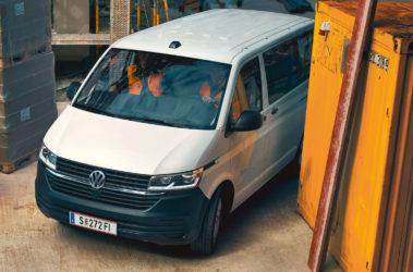 Nový Transporter kombi_přední pohled