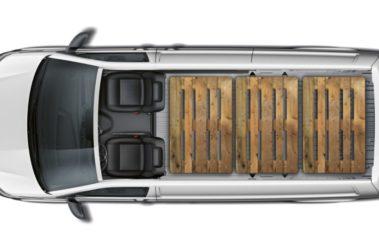 Nový Transporter skříň náklad