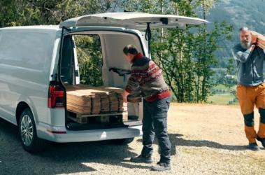 Nový Transporter skříň nákladový prostor