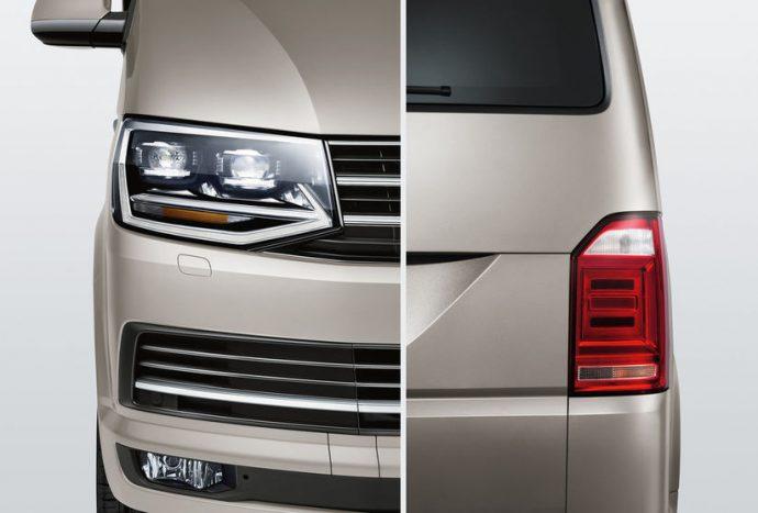 Caravelle přední a zadní světlomety