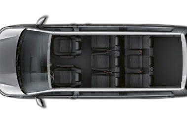 Nová Caravelle osmi sedadlová verze