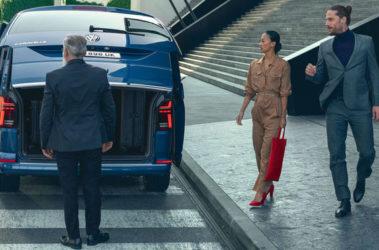 Nová Caravelle zadní pohled