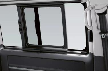 Nový Multivan výsuvné okno
