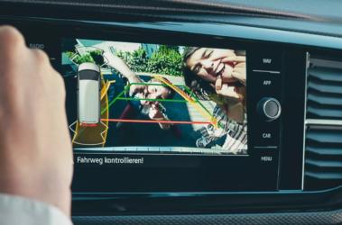 Nový Multivan zadní kamera