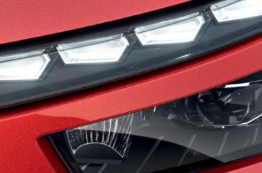Kamiq detail přední světlo