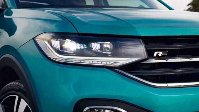 T-Cross detail přední světlomet