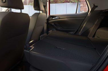 T-Cross složené zadní sedačky