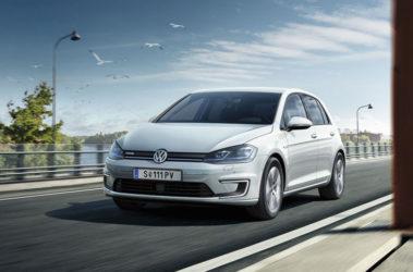 Volkswagen e-Golf přední pohled