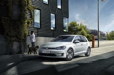 Volkswagen e-Golf boční pohled