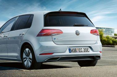 Volkswagen e-Golf zadní pohled