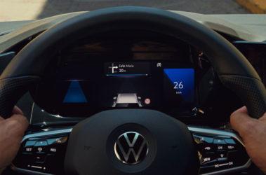 Nový Golf digitální cockpit