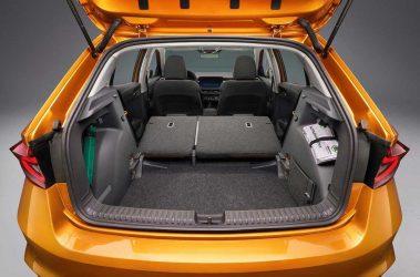 Nová Fabia zavazadlový prostor